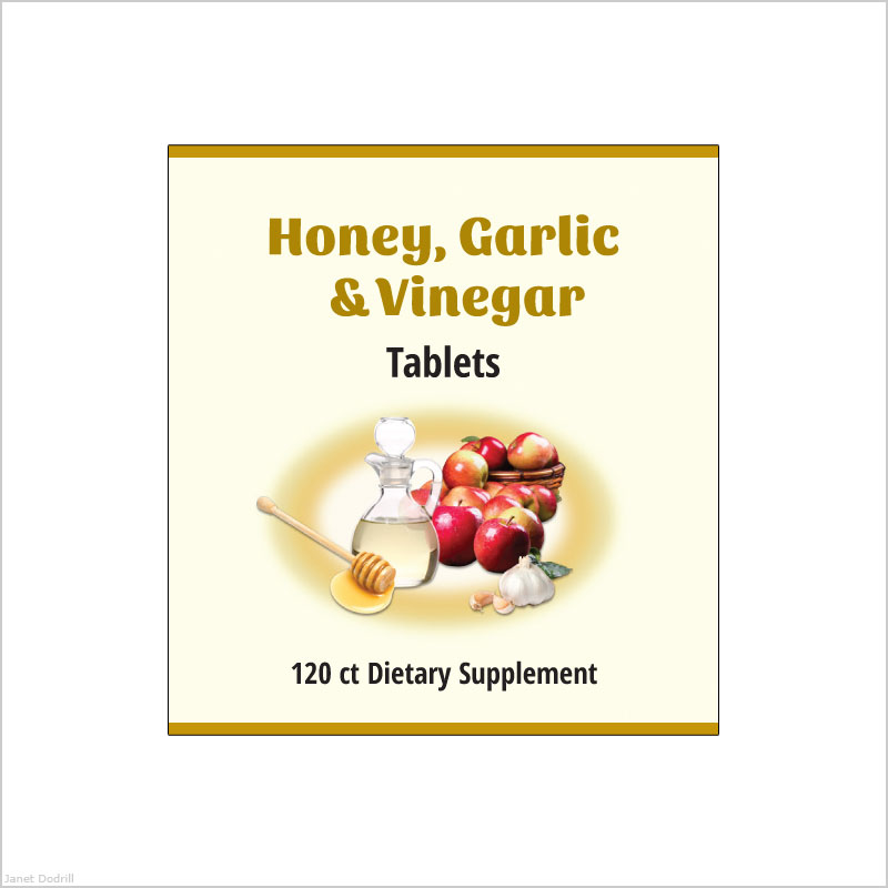 Janet Dodrill – Common Sense Health, Inc. Supplement Product Label Design